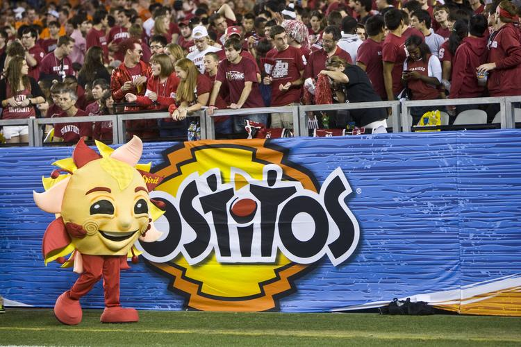 University of Phoenix Stadium in Glendale, home of the annual Tostitos Fiesta Bowl, will host a new college football championship title game in 2016.