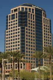 The Bank of America building in Phoenix.