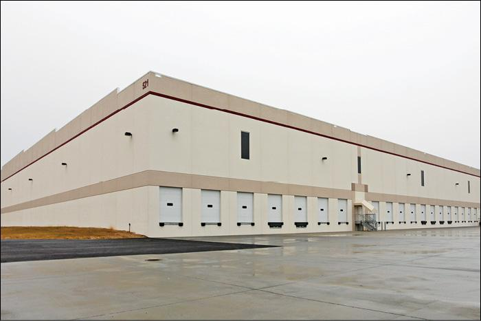 This building at 521 Chelsea Road in Perryman was the last large speculative industrial warehouse constructed in the region.