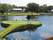The 17th hole at The Players Championship.