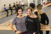 The Weyand sisters (Marirose, left, and Veronica) said it took a leap of faith to move more than 2,000 miles from their hometown of Saginaw, Mich., to open their first business in Scottsdale. They launched their first Pure Barre franchise studio in August 2010 and have opened several others since.