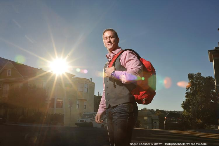 """Fitmark takes on big names like Jansport and Nike, Samuel says. """"To be a $100 million company, you have to act like a $100 million company."""""""