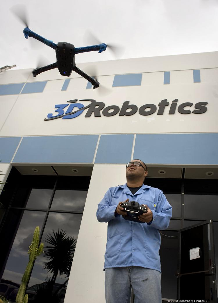 3D Robotics got $30 million in funding in September, the biggest venture investment in a record year for drone startups. The San Diego company is backed by Foundry Group, True Ventures, O'Reilly AlphaTech Ventures and SK Ventures.