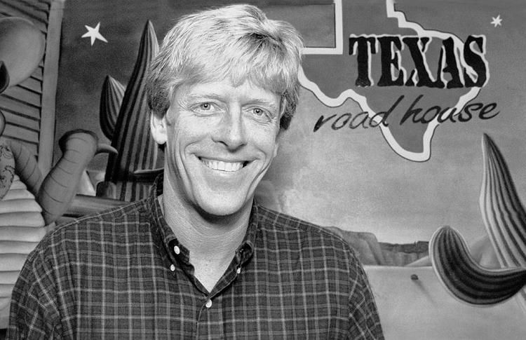 This photo was taken of Texas Roadhouse founder and CEO Kent Taylor in 2000, when the company ranked No. 2 on the Business First Fast 50 list of the area's fastest-growing private companies. Texas Roadhouse went public in 2004.