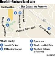 The Hewlett-Packard Co. Foundation sold a choice 188-acre parcel of vacant land in Roseville.  The parcel is the west side of the HP campus at 8000 Foothills Blvd.