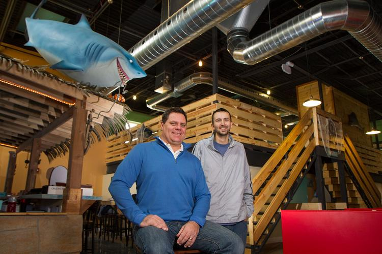 Mickey Lynch and Ryan Mills, owners of Walkers Bar & Venue and Jetty's.