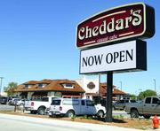 Cheddar's Casual Cafe opened to big crowds.