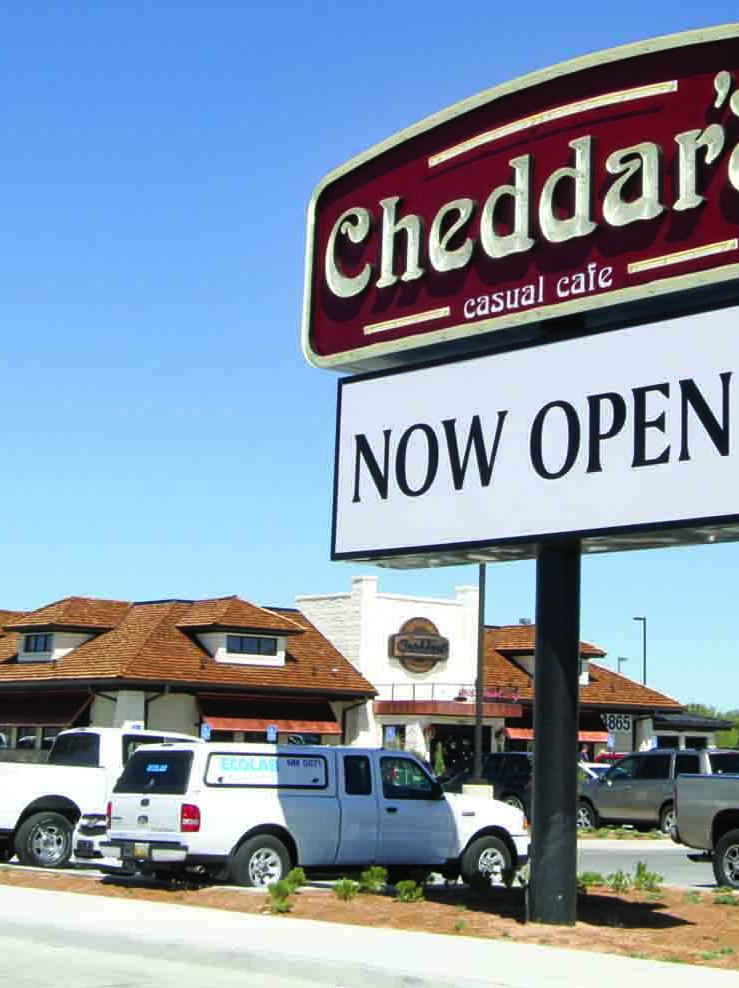 Cheddar's Casual Cafe will debut near Orlando International Airport on Aug. 11.