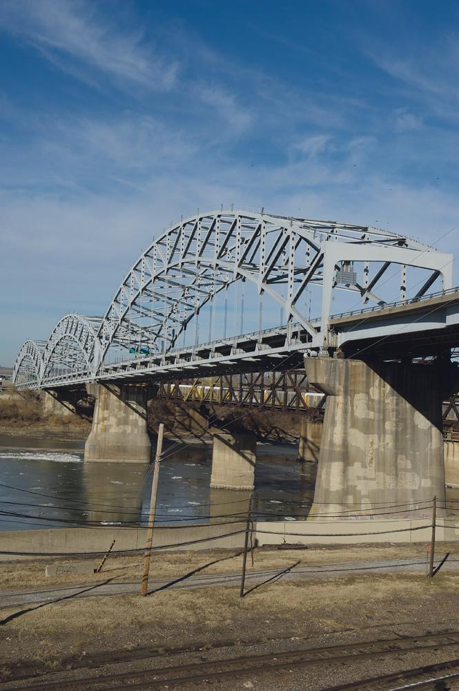 The Broadway Bridge, now 50 years old, funnels as many as 45,000 cars daily between the Northland and Downtown.