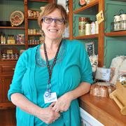 Nancy Cato has overseen the River Mill Store for 12 years.