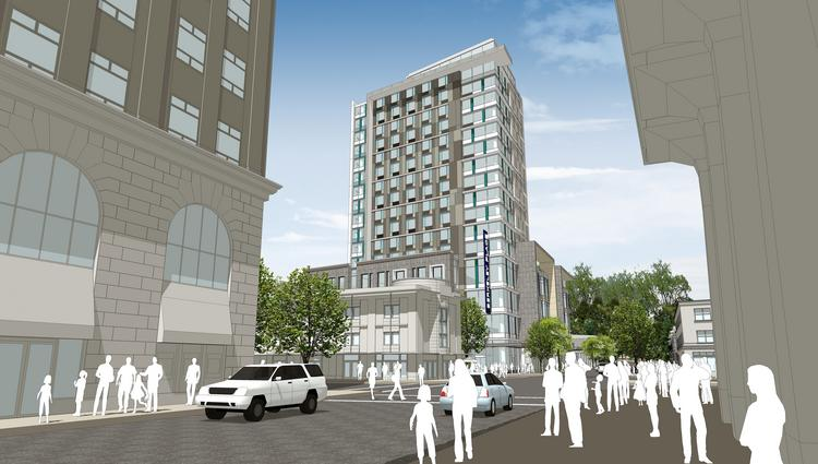A new hotel is proposed for Downtown Berkeley.