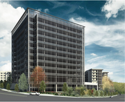 John Williams' Preferred Apartment Communities is the lead tenant in the new building. It will occupy three floors.