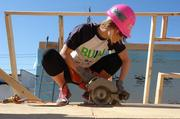 Milwaukee Brewers wives and girlfriends helped build a Habitat for Humanity home in May.