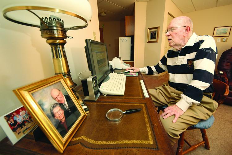 Don Robinson is a resident of the University of Pittsburgh Medical Center's Weatherwood Manor in Greensburg.