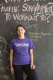 Karmen Nenahlo, an Anytime Fitness franchisee and marketing coordinator for southeastern Wisconsin.