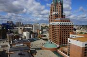 A view of Milwaukee's skyline during the Doors Open event in September.