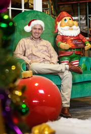 How I Got Started with Cormac Woods, whose business manufactures holiday displays in malls across the country.