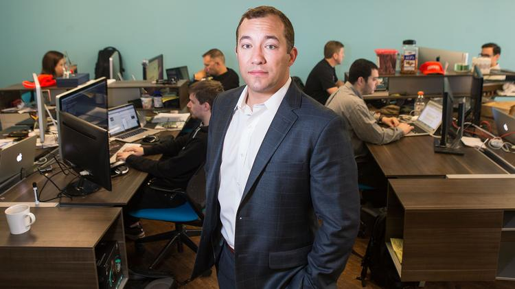 James Foster, founder and CEO of ZeroFOX Inc., says his company is poised for national expansion.