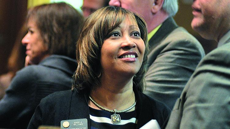 Rep. Angela Williams, D-Denver, is the sponsor of the workers' compensation reform bill.