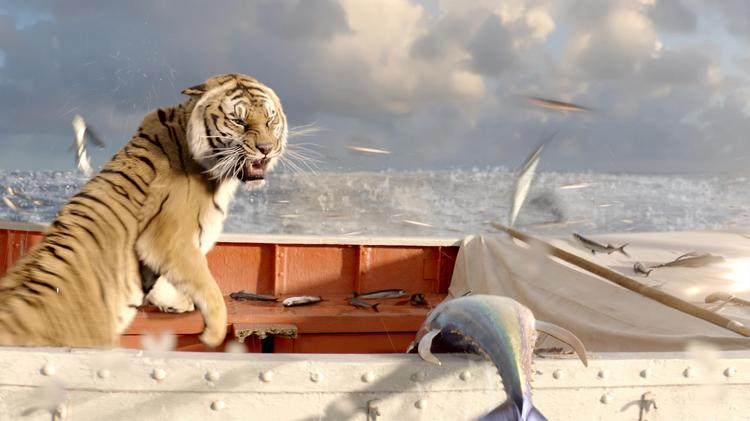 "Rhythm & Hues created the tiger Richard Parker in the Oscar-nominated ""Life of Pi."""