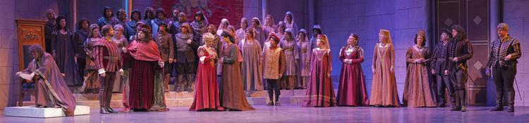 "An image from the Wichita Grand Opera performance of ""Otello."""