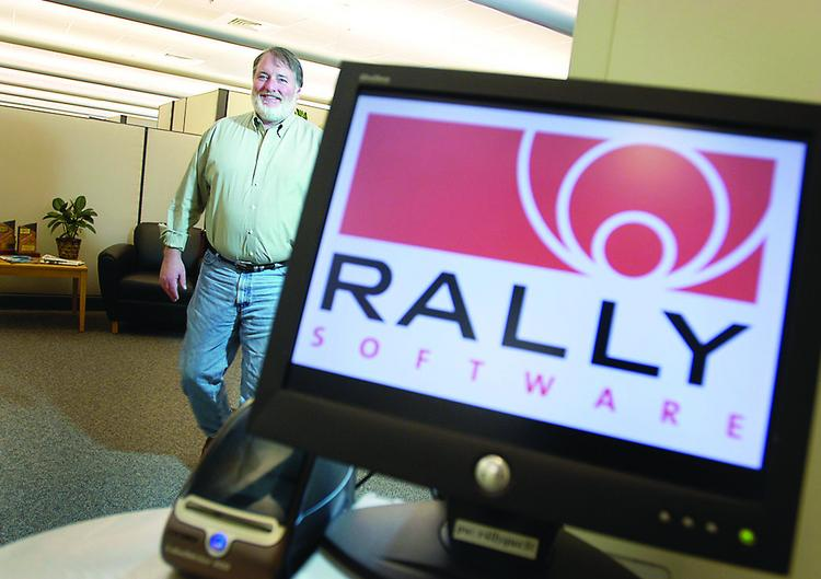 Tim Miller, CEO of Rally Software, which is expanding its Boulder headquarters.