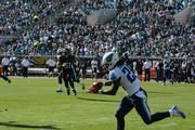 Titans running back Chris Johnson makes a move with the ball.