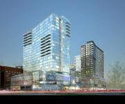 In one of the biggest land sales of the year, One Seaport Square, a three-acre parcel in Boston's Seaport District that was permitted for a pair of residential towers, has been sold to a joint venture led by Berkshire Group for $72 million. The sale by John Hynes' Boston Global Investors and Morgan Stanley Real Estate Investing follows the recent approval by the Boston Redevelopment Authority for the project, culminating a yearlong process of design review hearings. The project is slated to break ground in the spring of 2014 and is scheduled to be completed in 2016. Headquartered in Boston, Berkshire Group invests in and manages multifamily and property-related operating companies for institutional investors. Berkshire owns or manages more than 100 apartment communities with more than 32,000 units in 30 markets across the U.S. But so far, Bershire is not talking. Stephen Wood, the company's president, did not return calls for comment.
