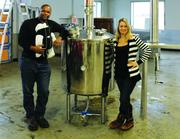 Chris and Shanelle Montana, founders of Du Nord Craft Spirits in Minneapolis