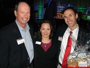 From left: Jerry Mallot, JaxUSA Partnership; Anna Brosche, Ennis Pellum & Associates; Christopher Kennelly, Kennetic Productions Inc.