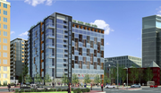 The Peebles Corp., with MacFarlane Partners and Standard International are proposing a 13-story, 198-key hotel and 59 branded residences for Fifth and Eye streets NW.