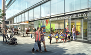 CSG and Trammell Crow have a partnership with the YMCA to open a 2,500-square-foot daycare center on the ground floor of its proposed trophy office building at Fifth and Eye streets NW.