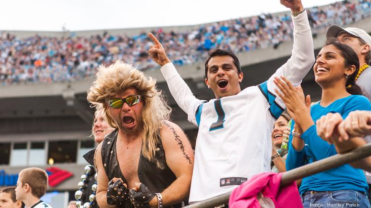 The Carolina Panthers' opponent for the divisional playoff game on Jan. 12 has yet to be determined, but one thing is certain -- the excitement building among local fans will mean a big win for uptown businesses.