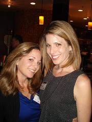 From left: April LaFalce, ICS Inc. and Kristilee Adler, NAI Hallmark Partners