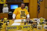 Wichita Mayor wagers steak, barbecue sauce that Shockers beat Louisville in Final Four