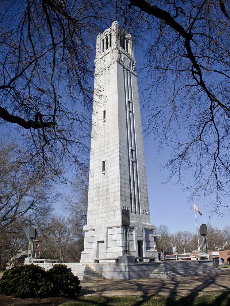 N.C. State University Bell Tower