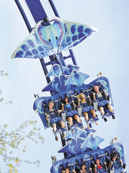 To ride Manta, Central Florida tourists will have to pay a little more to get inside SeaWorld parks.