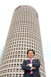 """Mukang Cho is CEO and principal of In-Rel Properties, which bought Rivergate Tower in Tampa.  """"When Rivergate Tower was built, it was ahead of it's time. Tampa wasn't ready for such an innovative building. Now it is,"""" Mukang Cho."""