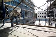 Construction at the Epicurean Hotel