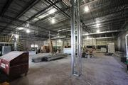 Inside the Trader Joe's being constructed at Dale Mabry Highway  and Swann Avenue in Tampa.