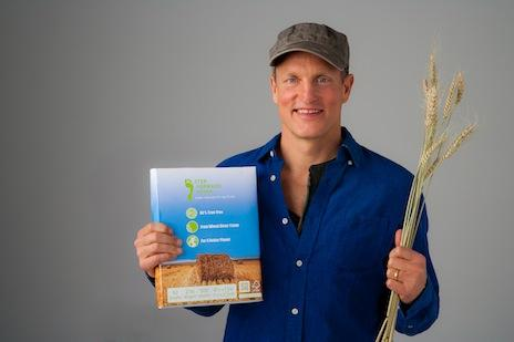 Actor Woody Harrelson's eco-friendly paper company, Step Forward Paper, plans to fundraise in Boston in February.