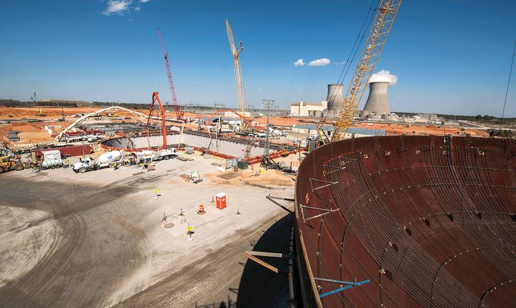 The Southern Co. is building a two-reactor expansion at its Plant Vogtle nuclear facility in Georgia.