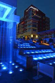 This photo served as the cover shot for this year's Courier 250 publication. It offers a gorgeous view of the steps at Smale Riverfront Park at the Banks.