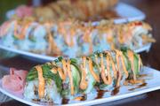 Bruce Crippen shoots a lot of restaurant assignments for us. One of his favorites was this Chicago roll from Drake's in Northern Kentucky.