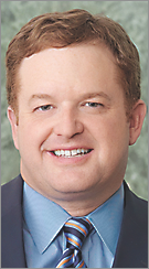Jason Little was immediately named as Reynolds' successor as president and CEO of Baptist Memorial Health Care Corp.