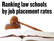 Which California law schools have the best job placement rates?