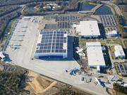 Architect BRPH, which will design the Everett wing plant, designed the Charleston, S.C., 787 assembly plant, pictured.