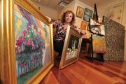 Sandra Aldo Pelletier of Sorelle Gallery in Stuyvesant Plaza in Guilderland, NY.