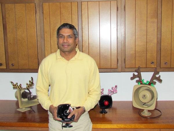 Vernon Fernandes, owner of Fourjay Industries in Dayton, is a native of India.