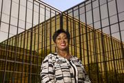 Melissa Harper, vice president of Global Talent Acquisition, Diversity and Inclusion, and HR Compliance at Monsanto poses for a photograph on the Monsanto campus.